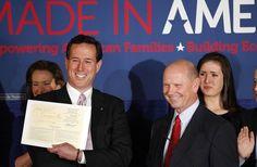 Photo #49 #prezpix #prezpixrs election 2012 candidate:Rick Santorum publication: Los Angeles Times LA Times photographer: Gerald Herbert AP publication date: 3/14/12