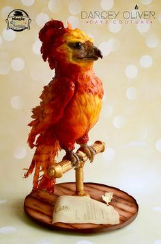 Fawkes - Cake by Darcey Oliver Cake Couture