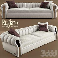 диван и кресло rugiano Karma