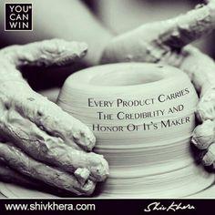Every #product carries the #credibility and #honor of its maker. #quoteoftheday #motivation #inspiration #leadership #success #winners #delhi #mumbai #bangalore #dubai #dubailife #singapore #singaporegp