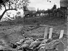 Confederate graves at Gettysburg, PA