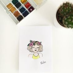 """108 Likes, 1 Comments - Mαlου (@mlle_malou_creative) on Instagram: """"✨inspi by @procrastiartist ✨"""""""