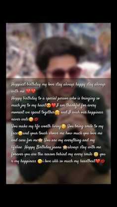 Beautiful Birthday Quotes, Birthday Quotes Funny For Him, Happy Birthday Best Friend Quotes, Happy Birthday Husband, Happy Birthday Text, Happy Birthday Wishes Images, Birthday Wishes Messages, Birthday Quotes For Best Friend, Anniversary Quotes For Boyfriend