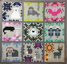 Quilting and Sewing in Camrose, Alberta Canada. Specializing in Judy Niemeyer and Modern Quilting. Baby Quilt Patterns, Modern Quilt Patterns, Modern Quilting, Quilting Patterns, Quilting Ideas, Elizabeth Hartman Quilts, Fabric Canada, Fox Quilt, Quilted Gifts