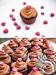 Squirrel of Nom's Tasty Treats: Schokoladen Cupcakes - und Variationen   Chocolate Cupcakes - and Variations