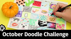 October Doodle Challenge | Sea Lemon