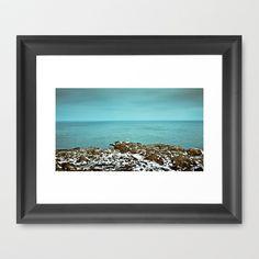 LIGHTHOUSE Framed Art Print by lilla värsting - $32.00
