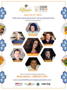 The Villa Group is proud to announce the fourth edition of the Cuisine of the Sun International Food and Wine Festival, which will be held April in Villa La Estancia Riviera Nayarit. Can you smell what the chefs are cooking?
