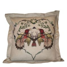 Valentines Day - Lovebirds Cushion