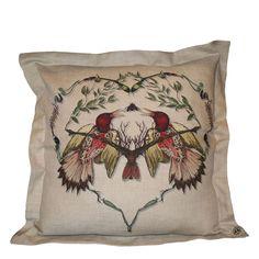 Valentines Day - Lovebirds Cushion