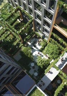 Team REBEL presenteert Kop Zuidas – Amsterdam - Delva Landscape Architects
