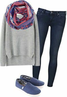 Outfits regreso a clases otoño 14