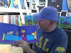 Todd Parr reads his books to you. Has a video for nearly every book. so fun. kids love seeing the author.