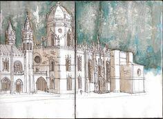 Diários de Viajante: Mosteiro dos Jerónimos _ Lisboa