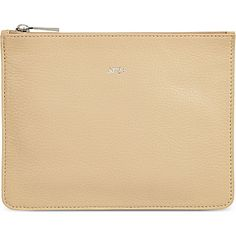 NO. 21 Leather pouch (Beige