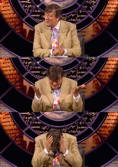 QI - Quite Interesting & Entertaining with Stephen Fry & Alan Davies is such a funny and clever show.