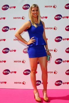 Canadian youngster Eugenie Bouchard is the latest tennis player to catch the fancy of fans, while regulars on the circuit, like Ana Ivanovic, Caroline Wozniacki and Daniela Hantuchova, still continue to be the top attractions. Canadian Tennis Player, Tennis Players Female, Caroline Wozniacki, Ana Ivanovic, Tennis Stars, Maria Sharapova, Wimbledon, Eugenie Bouchard, Athletic Outfits