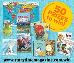 Enter our special Storytime Anniversary Issue 13 #competition! 50 book prizes to #win! ~ STORYTIMEMAGAZINE.COM