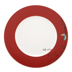 Lenox Chirp Scarlet Dinner Plate | Overstock.com Shopping - The Best Deals on Plates