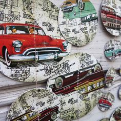 Cars garland, Retro cars shower, Boy shower, Motoring garland, Vehicles garland, Wall hanging, Cars Banner, Fathers day garland, Vintage car  More garlands on etsy shop Folkchain