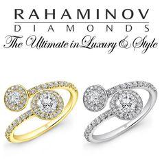 Forevermark Bypass Ring #Rahaminov #diamonds #RahaminovDiamonds #ring #fashion #style #Forevermark