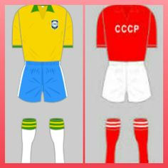 Brazil 2 USSR 0 in 1958 in Gothenburg. Brazil's win means they win Group 4 and USSR must play-off against England at the World Cup Finals.
