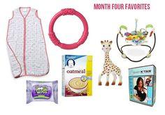 Four Month Favorites