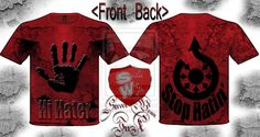 hi hater stop hatin' T-shirt designed streetwear by ~StreetWearinc on deviantART