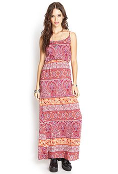 Paisley Maxi Dress | Forever 21 - 2000063069