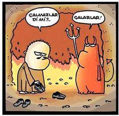 Çalmazlar Dimi karikatür