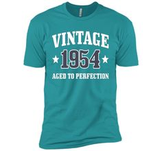 62nd Birthday Gift - Vintage 1954 - Aged To Perfection Shirt
