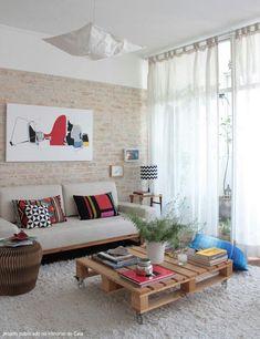 Design interiores para salas pequenas