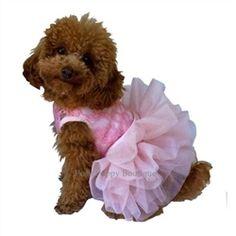 Fufu Tutu Dress- Pink