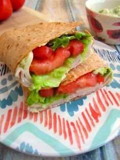 20. Turkey Provolone Wrap with Avocado Mayo #quick #healthy #recipes http://greatist.com/eat/10-minute-recipes