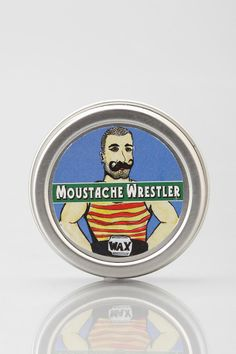 The Moustache Wrestler-Mustache Wax - Urban Outfitters
