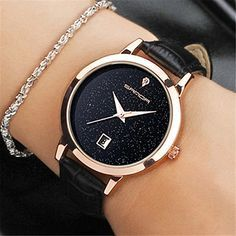 Cheap montre brand, Buy Quality montre fashion directly from China montre femme Suppliers: SANDA 2017 Fashion Wrist Watch Women Watches Ladies Luxury Brand Famous Quartz Watch Female Clock Relogio Feminino Montre Femme Stylish Watches, Luxury Watches, Watches For Men, Women's Watches, Jewelry Watches, Watches Online, Ladies Watches, Wrist Watches, Watches Women Fossil
