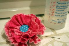 cloth flowers for decorating clothing