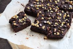 Fool brownie lovers with these healthy and delicious Naturally Sweetened Black Bean Brownies that have no added sugar, and are vegan and gluten free.