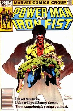 Another man received Cage's powers before Luke did. Now Iron Fist is a bloody pulp.