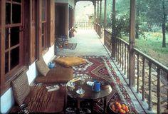 Nail Çakırhan Mimarisi - ön Poker Table, Deck, House Design, Patio, Traditional, Architecture, Outdoor Decor, Furniture, Home Decor