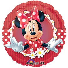 minnie mouse party supplies red and black | ... minnie mouse foil balloon a party isn t a party without the balloons