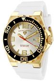SWISS LEGEND Men's Expedition Silver Dial White Silicone For $65 plus Free Shipping