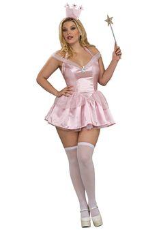 Plus Size Sexy Glinda Costume