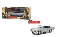Diecast Auto World - Greenlight 1/43 Scale Hollywood Series The Hangover 1969 Mercedes Benz 280 SE Convertible Diecast Car Model 86461, $16.99 (http://stores.diecastautoworld.com/products/greenlight-1-43-scale-hollywood-series-the-hangover-1969-mercedes-benz-280-se-convertible-diecast-car-model-86461.html/)
