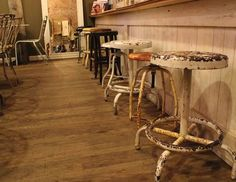 What a collection of old stools!
