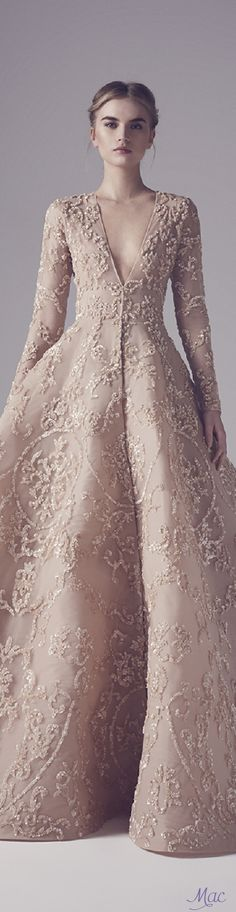 27 best embellished wedding gowns images on Pinterest | Long gowns ...