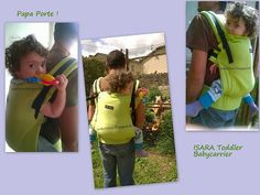Isara Toddler babycarrier Portage Daddywearing