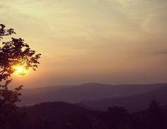 Sunrise in Karkonosze Mountains