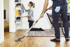 No one wants to make household chores any more difficult. Gather some tips on the right order to do chores for an easier-to-clean home. Chore Checklist, Spring Cleaning Checklist, House Cleaning Tips, Deep Cleaning, Cleaning Hacks, Cleaning Supplies, Cleaning Services, Cleaning Products, Cleaning Lists