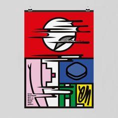"""Erich Brechbühl, [22/1-22/4 2017, Breda, 3sec. Gallery]"", (2017), Project Folder, Poster - [Dennis Elbers, the boss of the graphic design ""festival Breda"" invited our ""Feixen Studio"" and our longtime studiomate Erich Brechbühl (b. 1977, Swiss) to exhibit"